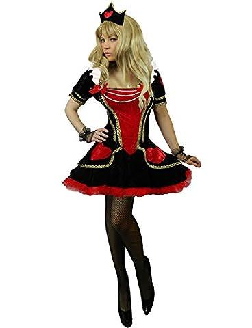 Reine Mardi Gras Costumes Sexy - Yummy Bee - Dame de Cœur Alice