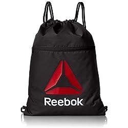 Reebook Os Gymsack - Bolsa unisex, color negro, talla única