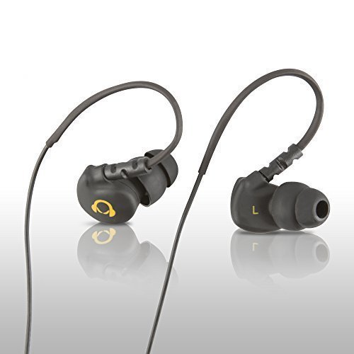 Gear Beast GearBuds Sports Water Resistent (IPX5) Noise Reducing Stereo In-Ear headphones