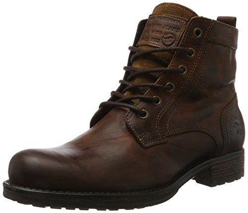 Mustang Herren 4865-507-301 Klassische Stiefel, Braun (Kastanie), 43 EU