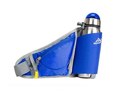 Zll/2016New Outdoor Wasser Flasche Taschen Taschen Taschen Running Sport für Damen und Herren Blau