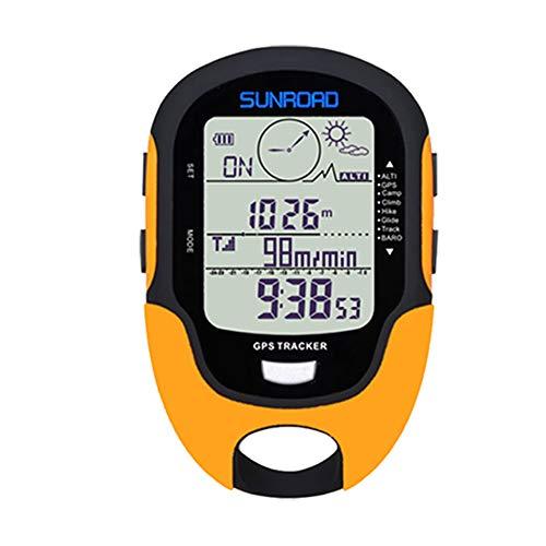Irfora Multifunktions LCD Digital GPS Höhenmesser Barometer Kompass Tragbare Outdoor Camping Wandern Klettern Höhenmesser mit LED Taschenlampe FR510 Portable Angeln Gps