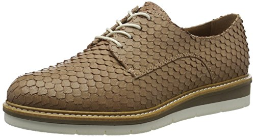 Tamaris 23202, Scarpe Stringate Basse Oxford Donna Marrone (Mauve 502)