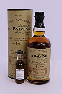 Balvenie - 14 Year Old - Caribbean Cask - 43.0% - *50ml Sample* by Balvenie