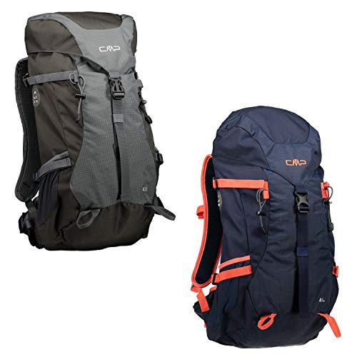 CMP Caponord Rucksack, Black Blue, One Size