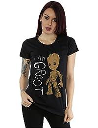Marvel - Camiseta - Manga corta - para mujer