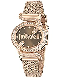 Just Cavalli Damen-Armbanduhr SIN Analog Quarz Edelstahl R7253591506