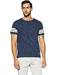 Amazon Brand - Symbol Men's Plain Regular Fit T-Shirt