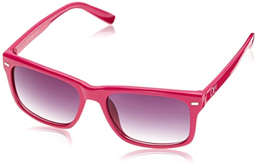Dice Unisex Sonnenbrille, Shiny Pink/Smoke, One Size, D06210-34