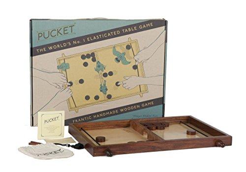 ET Games Pucket frantic wooden game