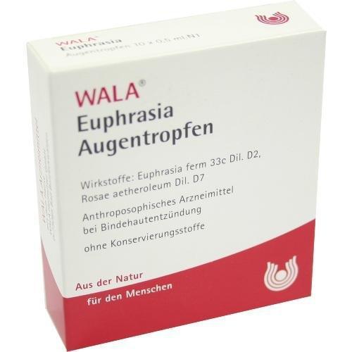 EUPHRASIA AUGENTROPFEN 10X0.5ml Augentropfen PZN:6816435
