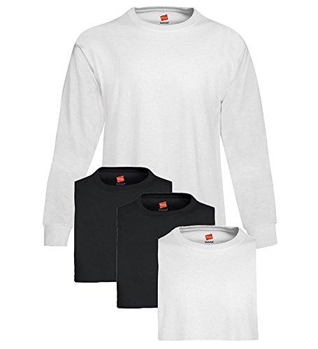 Hanes Men's Tagless ComfortSoft Long-Sleeve T 4PK (Hanes-sport-schuhe)