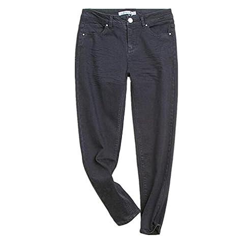 Wgwioo Denim Skinny Femmes Déchiré En Détresse Pantalon Pocket Slim Noir Bootcut Classique Base Curvy Jeans .