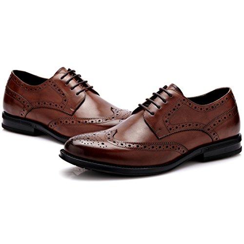 De 5txwzqqp À Ville Desai Lacets,brogues Homme Derby Chaussures Marron 0yNwO8vmn