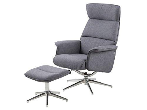 "Loungestuhl mit Hocker Relaxsessel Ruhesessel Sessel Stuhl Hocker \""Alera I\"""