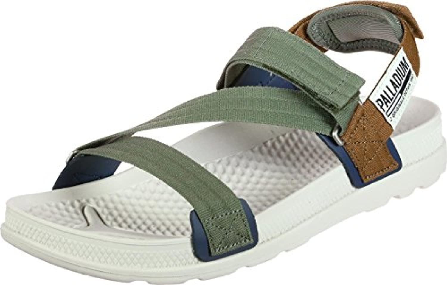Palladium Herren Pampasolea Sandalen Olive Night