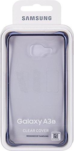 Samsung Clear Cover EF-QA310 für Galaxy A3 (2016), schwarz Samsung 3d-mobile