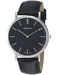 M-WATCH Smart Casual 40 Analog Black Dial Men's Watch-WRG.34120.LB