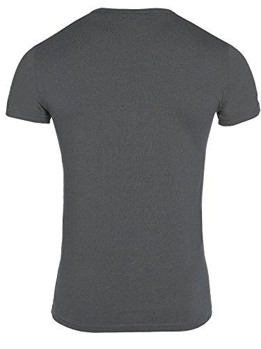 Emporio Armani Herren T-Shirt 1110356a715 Grey
