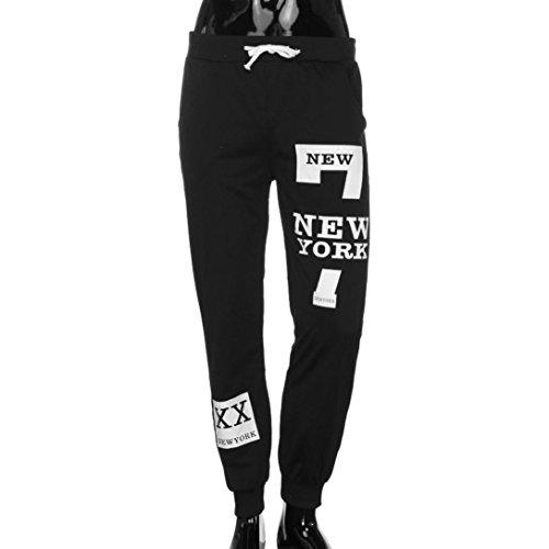 Jeans Herren,Binggong Männer Mode Hosen Männer Hosen Freizeithosen Jogginghose Lose original jeans fit skiny pants Stretch Used Design (Schwarz, XXXL) (True Kinder-jeans Religion)
