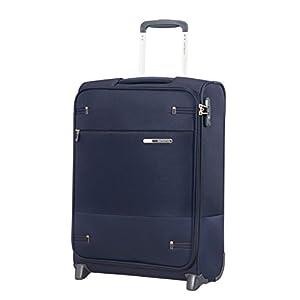 Samsonite Base Boost - Upright S Hand Luggage, 55 cm, 41 Litre, Blue (Navy Blue)
