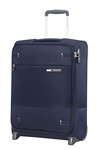 Samsonite Base Boost Upright S Bagaglio a Mano, 55 cm, 41 litri, Blu (Navy Blue)