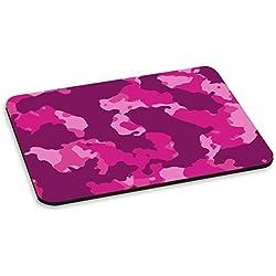 Camuflaje rosa y morado los ordenadores PC alfombrilla para ratón - ejército marina Marines cadorabo