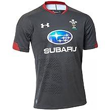 Under Armour - Camiseta de Rugby para Hombre, Hombre, 1298989-017, Anthracite