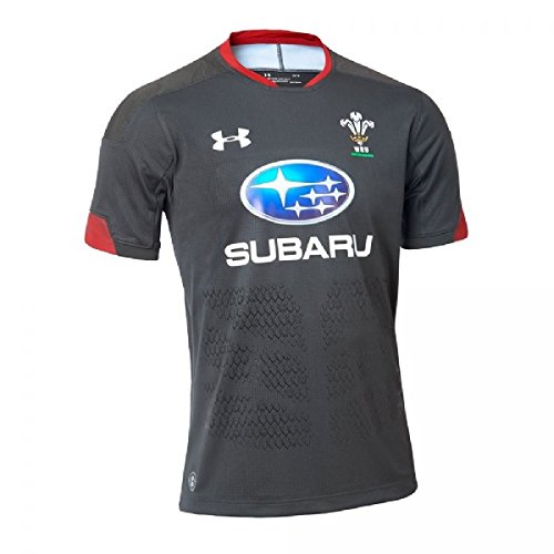 Under Armour Herren Welsh Rugby Supporters Alternate Jersey XXL Anthracite (017)