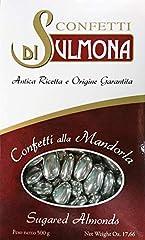 Idea Regalo - Confetti di Sulmona Nozze d'Argento Confetti con Mandorla Argento - 500 gr