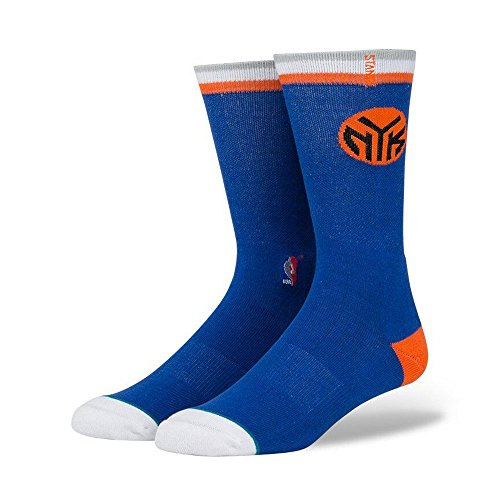 Stance New York Knicks Arena Logo NBA Socken Blau, L