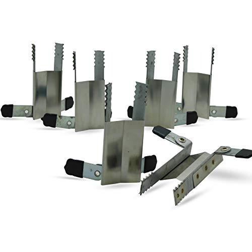 Klemmsicherung Rollladen-Sicherung Fenstersicherung, 6 Stück (3 Paar)