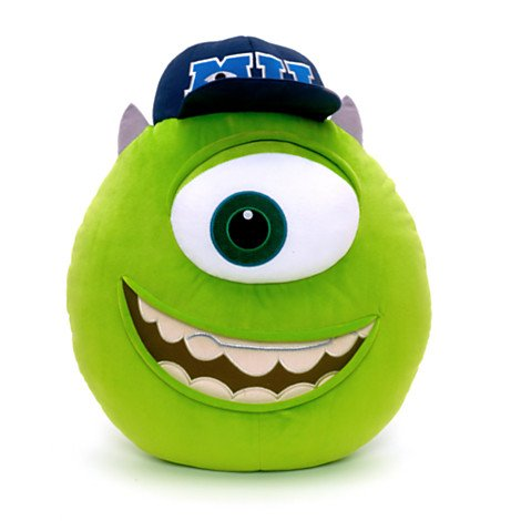 Disney Exclusive Mike Plush Pillow - Monsters University - 15 H by Disney