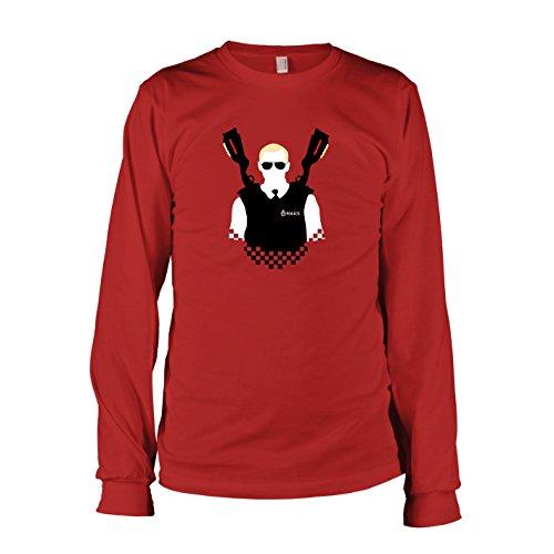 TEXLAB - Fuzz - Langarm T-Shirt, Herren, Größe XXL, (Fuzz Kostüm Hot)