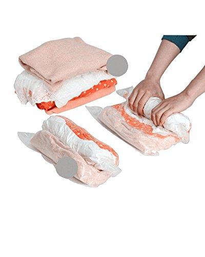 Preisvergleich Produktbild LaoZan 5 Stück VaKuum komprimierte Speicherung platzsparend Beutel Aufbewahrungstasche Für Kleidung 5PCS