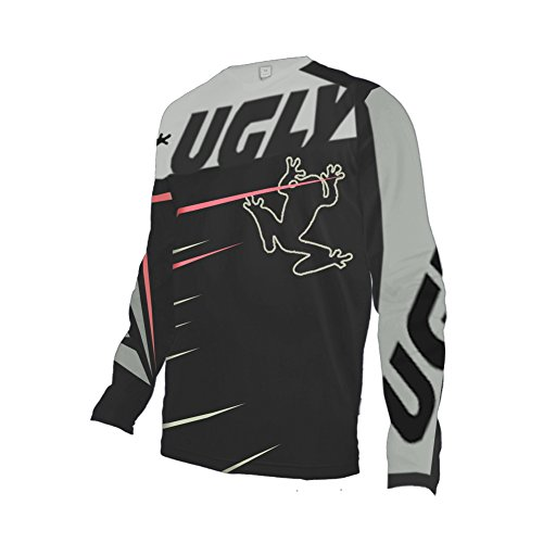 Uglyfrog 2018 Neueste Lange Ärmel Jersey Frühlingsart Motocross Mountain Bike Downhill Shirt Herren Sportbekleidung Kleidung (Fox Reiten Hosen)