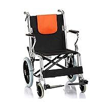 Wheelchair Strengthen aluminum alloy wheelchair Foldable wheelchair Manual wheelchair