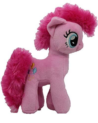 MLP Famosa My Little Pony Pferd 17cm Plüschfigur, Kuscheltier für Kinder, Mädchen und Jungen, zum Sammeln, Kuscheln und Spielen (Pinkie Pie, pink) (Pinkie Pie Erwachsene)