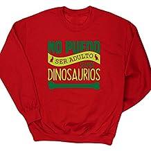 HippoWarehouse no puedo ser adulto seamos dinosaurios jersey sudadera suéter derportiva unisex niños niñas