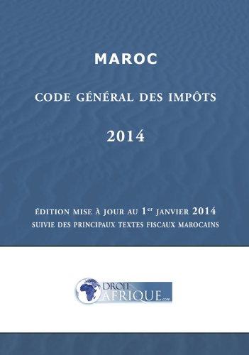 Maroc - Code General des Impots 2014