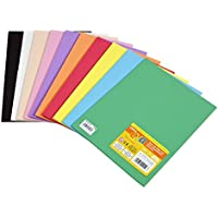 Carchivo 133319 - Pack 10 hojas goma Eva 2 mm, 220 x 295 mm, multicolor