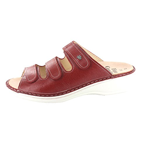 FinnComfort PISA 02501423147 Donna Mule Rosso