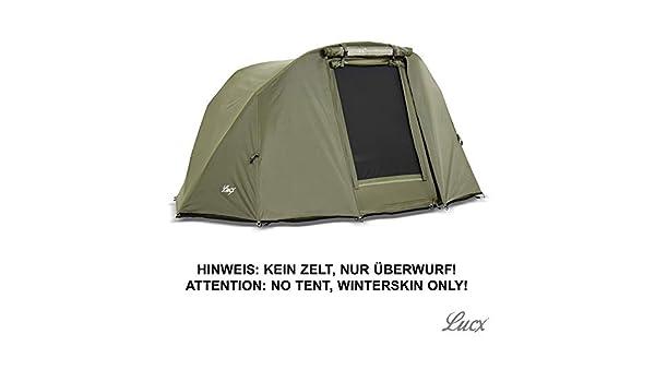 Kein Zelt Nur /Überwurf Lucx Winterskin///Überwurf//Overwrap f/ür 2 Mann Bivvy Lion//Angelzelt//Karpfenzelt