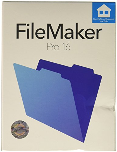 FileMaker Pro - (v. 16) - Box-Pack - 1 Benutzer - academic, Non-Profit - Win, Mac - Mehrsprachig