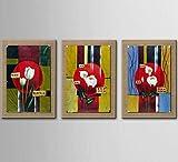 AYANGZ Kunst 100% Handgezeichnete Ölgemälde - Kunstdrucke Moderne Moderne Blumenkunst Leinen Moderne Wohnkultur Stretch und Rahmen bereit, Rahmenlos zu hängen,23 * 35inch*3