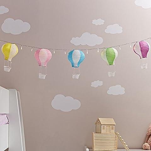 Heißluftballon Deko Kinderzimmer Deko