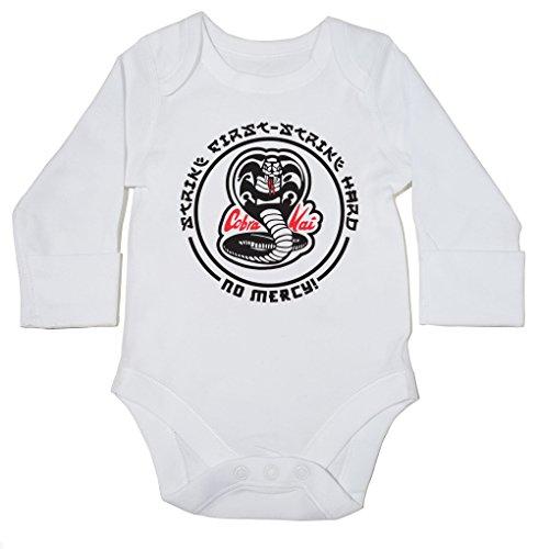 41a0p8sNRqL - Body blanco para bebés manga larga