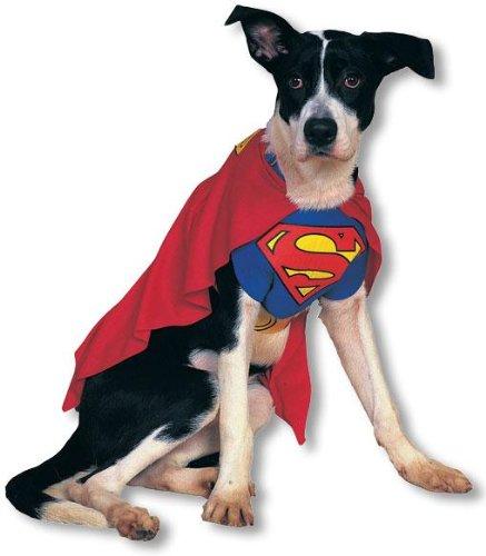Superman Hundekostüm large (Kostüme Superman Hund)