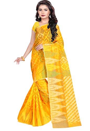 Sai International Women's Banarasi Silk Multi-Coloured Saree ( hari_82 )