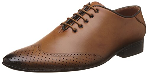 Auserio Men's Tan Formal Shoes - 10 UK/India (44 EU)(SS 934)